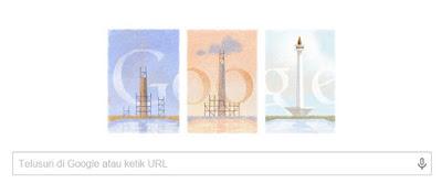 Google Ikut Merayakan HUT ke 40 Monumen Nasional Indonesia