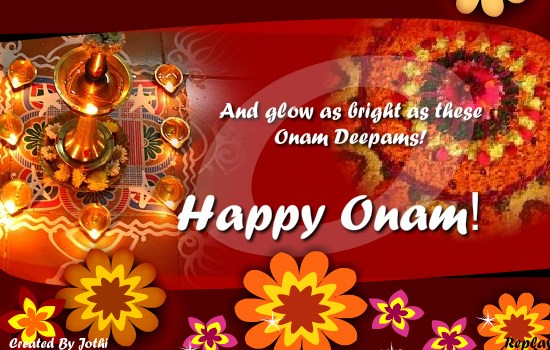 onam wishes 2016