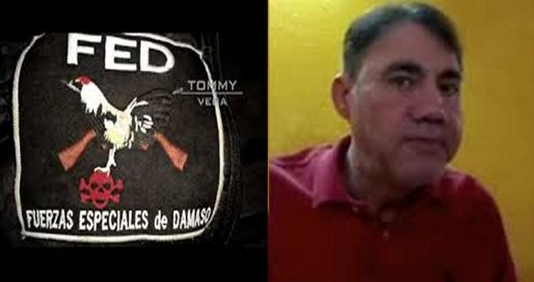 Damaso fue detenido el la Ciudad de México por elementos de la AIC y  MILITARES