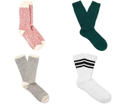 Kışa Uygun Kalın Çoraplar