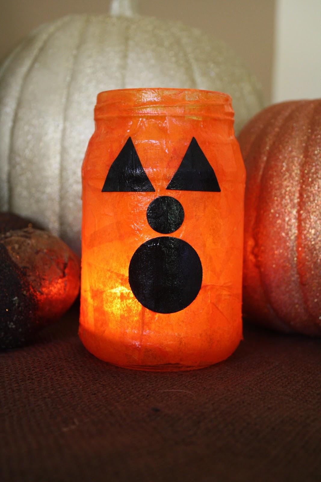 Antsi Pants Tissue Paper Pumpkin Jars