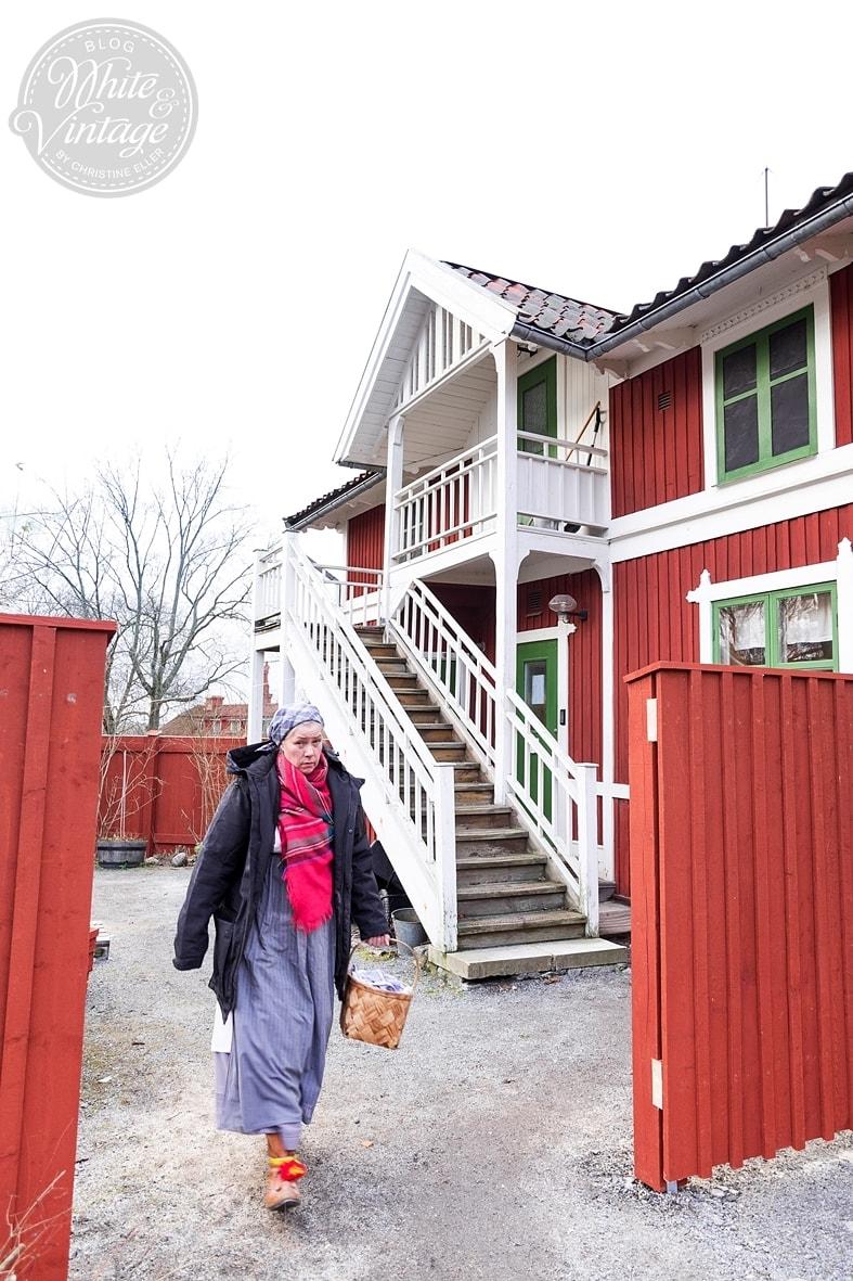 Skansenpark in Schweden mit Führung