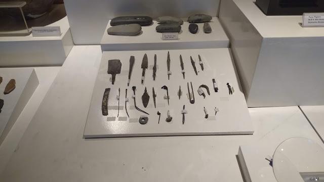 Kastamonu Kınık-Delibeyoğlu Sırtı Ören Yeri Tabakaları, kesici ve kemik delici aletler...