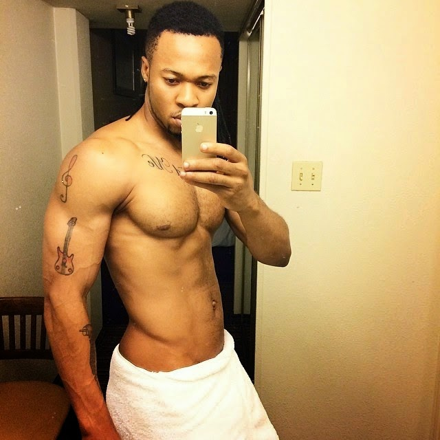 Saturday Man Candy - It's a Shirtless Flavour N'Abania Again!