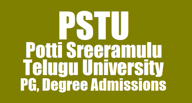 pstu pg course admissions 2018,pg admissions notification 2018,potti sreeramulu telugu university pg admissions, potti sreeramulu telugu university admissions 2018,pstu pg courses admissions last date,exam date,application form,http://teluguuniversity.ac.in/