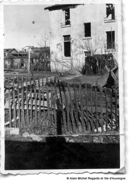 Usine Michelin de Cataroux le 17 mars 1944.