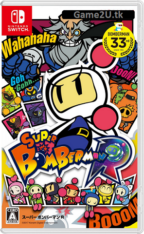 Super Bomberman R Switch XCi + Nsp