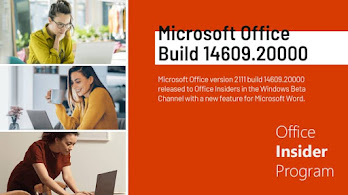Microsoft Office Version 2111 (Build 14609.20000) improves Coauthoring Error Recovery Experience