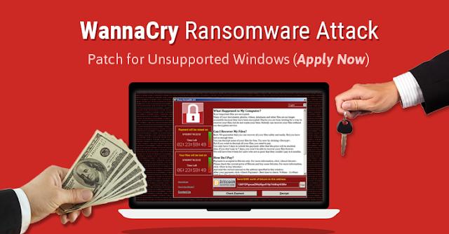اخطر فيروس فى العالم الفدية WannaCry الذى قام بتدمير نصف حواسيب العالم