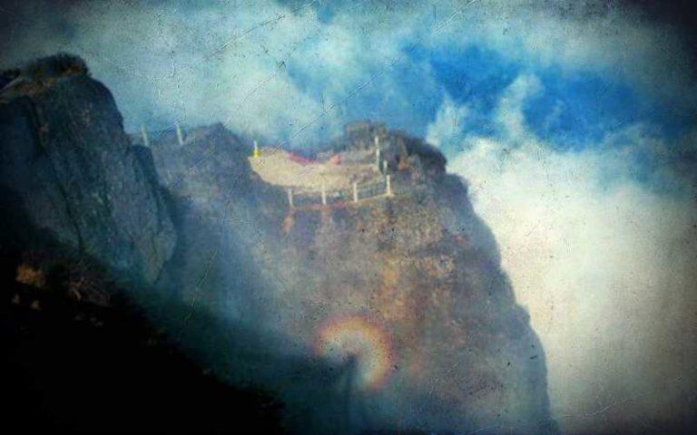 Το μυστηριώδες φωτοστέφανο του Βούδα…
