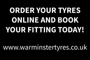 Book your tyres online at Checkpoint Warminster tyres