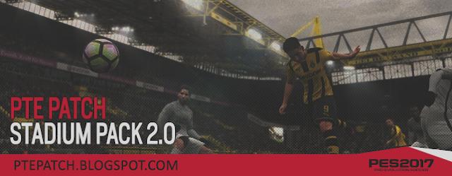 PES 2017 Stadium Pack V2.0 dari PTE