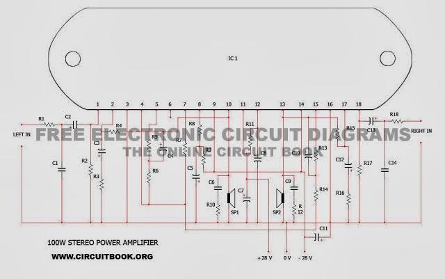 Stk4191ii Audio Schematics - Wiring Diagram Content