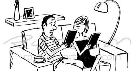 Royston Cartoons: Technology cartoon: Case closed