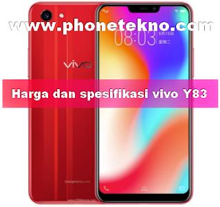 Harga dan spesifikasi VIVO Y83