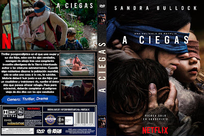 CARATULA A CIEGAS - BIRD BOX: A CIEGAS 2018 [COVER DVD]