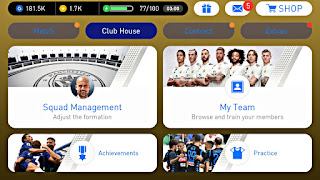 PES 2019 Mobile Android New Menu,Graphics Patch Latest Version