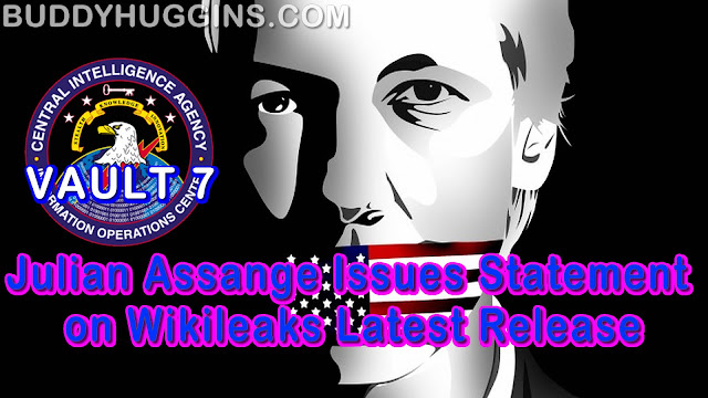 Image result for JULIAN ASSANGE buddy huggins