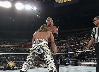 WWF / WWE SURVIVOR SERIES 1996: Sid bt. Shawn Michaels to win the WWF title