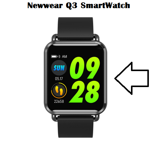 Newwear Q3 SmartWatch Specs, Price, Features