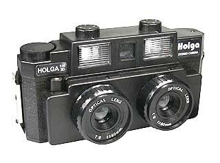 Fotocamera Stereoscopica Holga
