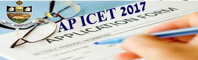 AP ICET Online Application form 2017
