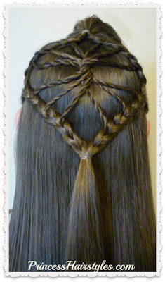 Cute braided hairstyle! The twisted wheel hair tutorial.