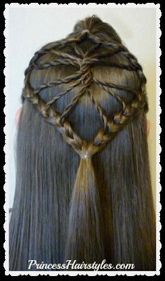 Cute braided hairstyle! The twisted wheel hair tutorial.