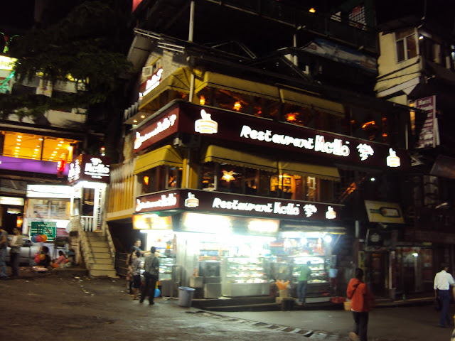 night in mcleodganj