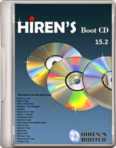 Hiren's BootCD 15.2 Maintenance CD