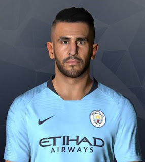 PES 2017 Faces Riyad Mahrez by Facemaker Ahmed El Shenawy