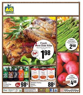 AG Foods Flyer April 23 – 29, 2017