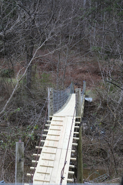 Swinging Bridges in Breathitt County