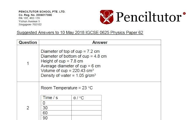 http://www.penciltutor.edu.sg/wp-content/uploads/2018/05/2018-IGCSE-0625-Physics-Paper-62.pdf