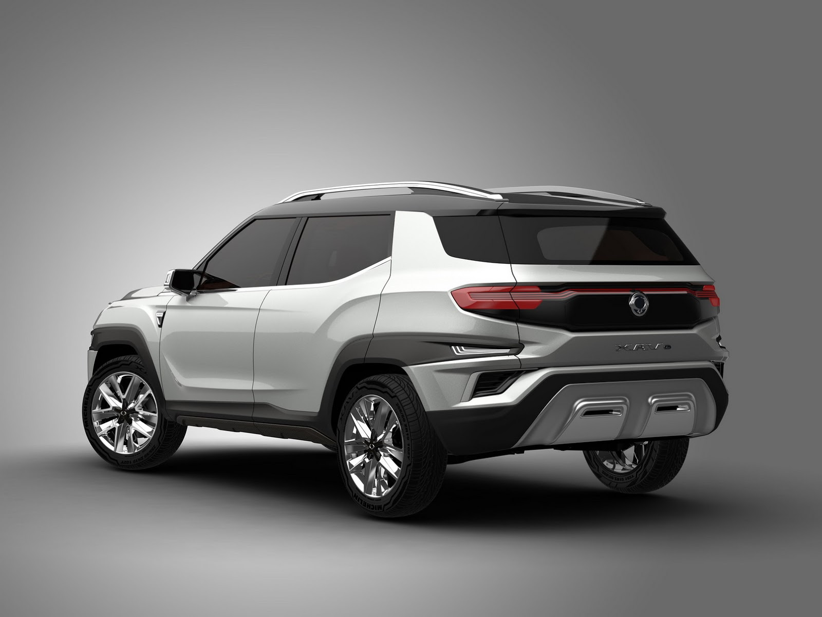 ssangyong s xavl concept will morph into a seven seater production suv. Black Bedroom Furniture Sets. Home Design Ideas