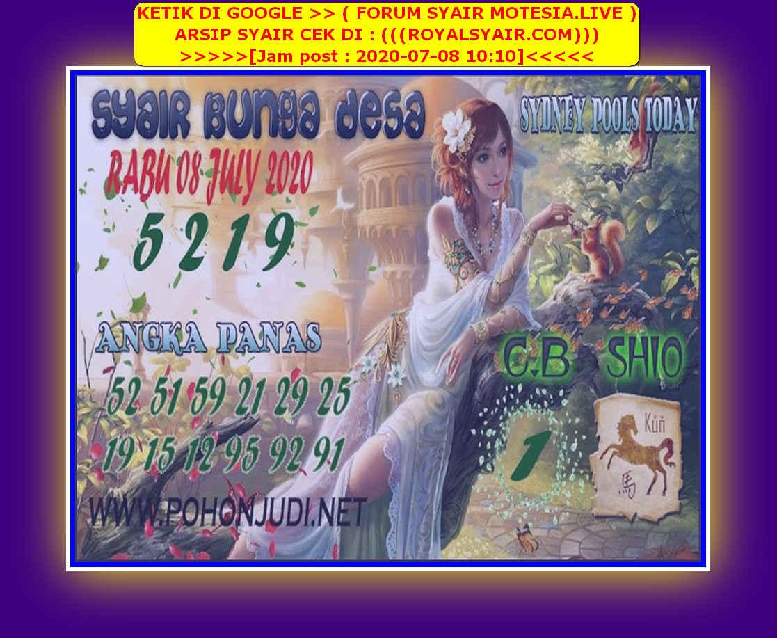Kode syair Sydney Rabu 8 Juli 2020 92