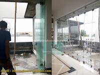 Harga Pintu Kaca Lipat Frameless Untuk Bangunan Tampil Elegan
