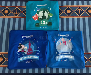 DLP Magic Run 2017 T-shirts