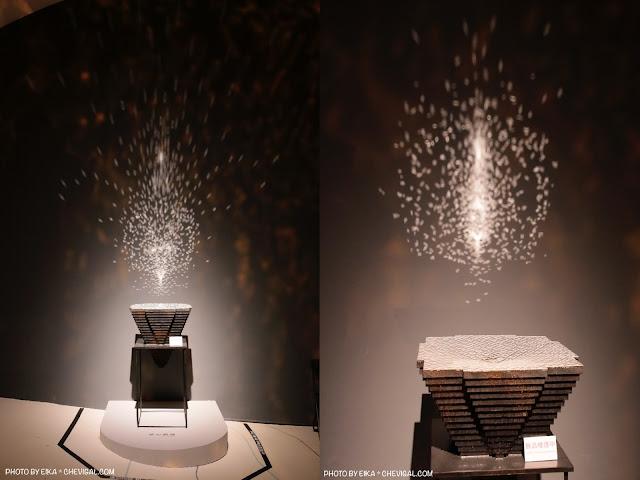 Collage Fotor - 台中國家歌劇院│天圓地方,金黃光影美得讓人屏息!首次於台灣亮相的作品現在免費看!