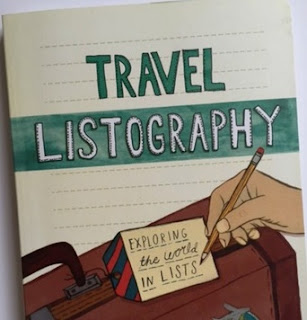 Travel Listography book - things I do on holiday but not at home
