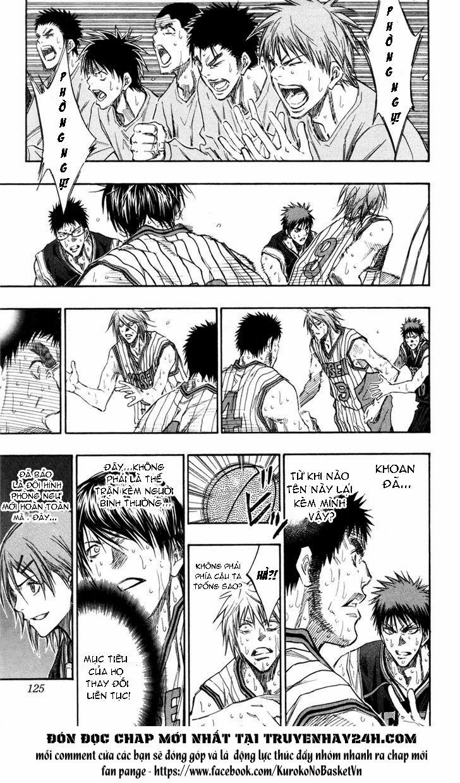 Kuroko No Basket chap 159 trang 17