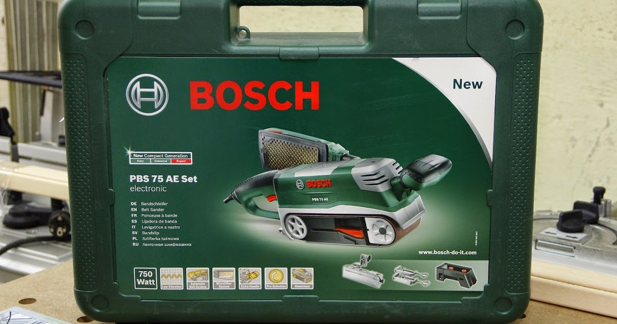 holzsplitter review bosch pbs 75 ae set. Black Bedroom Furniture Sets. Home Design Ideas