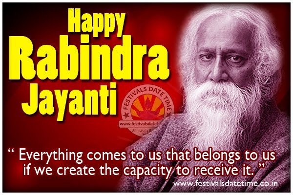 Rabindranath Tagore Jayanti Wallpaper Free Download