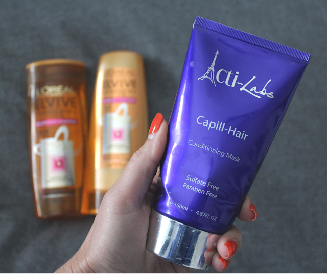 hair, dry hair, hair tips, actilabs, conditioning mask