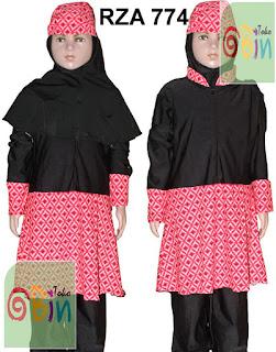 baju renang muslim anak RZA 774