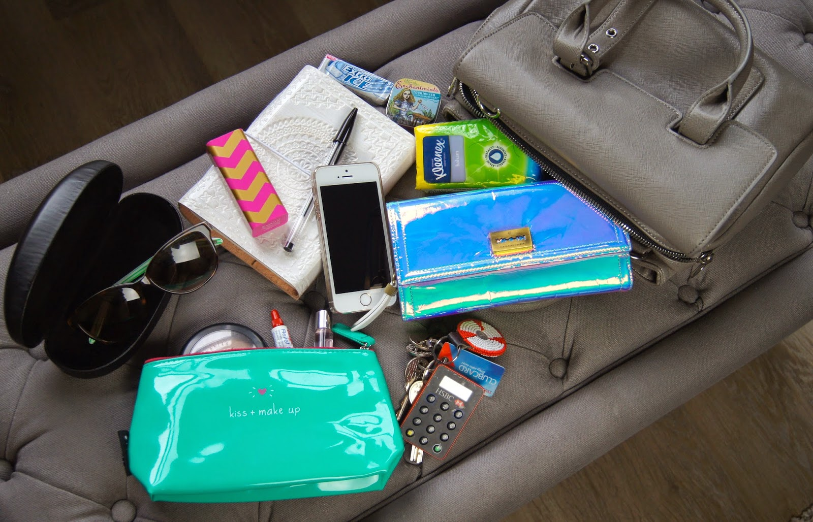 what's in my bag tag