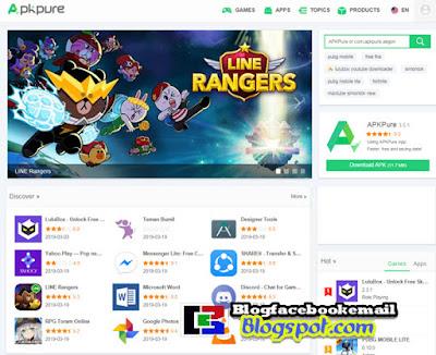 apkpure situs download game android terbaru