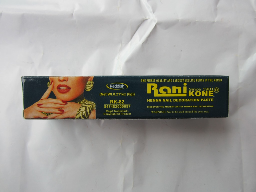 HENNA GOLECHA INDONESIA HENNA RANI KONE RK 82 In Green Pack