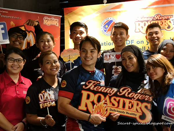Kenny Rogers Roasters Celebrates Malaysia Dodgeball Federation Achievements