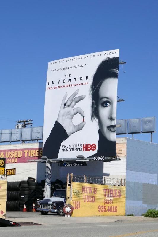 Inventor documentary film billboard